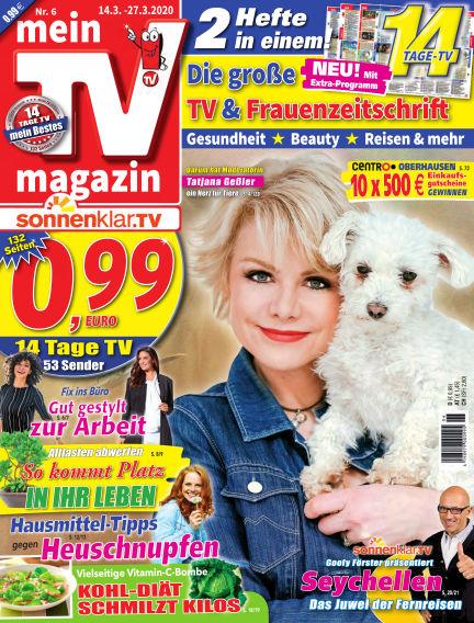 mein TV-magazin March 13, 2020 00:00