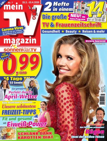 mein TV-magazin March 27, 2020 00:00