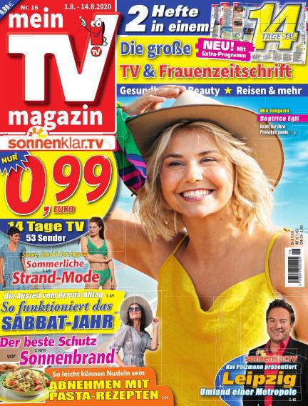 mein TV-magazin July 31, 2020 00:00