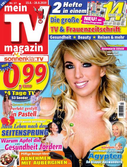 mein TV-magazin August 14, 2020 00:00