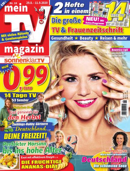 mein TV-magazin August 28, 2020 00:00