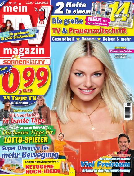 mein TV-magazin September 11, 2020 00:00