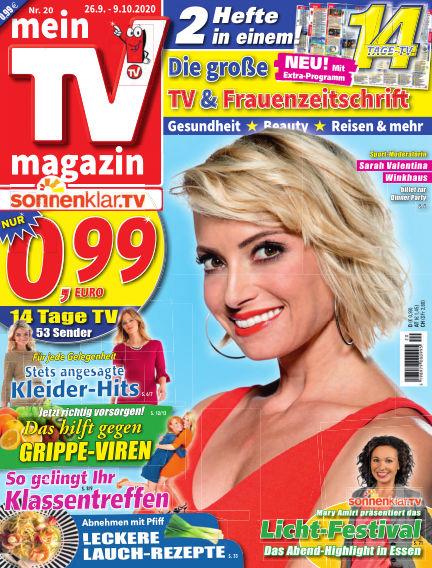 mein TV-magazin September 25, 2020 00:00