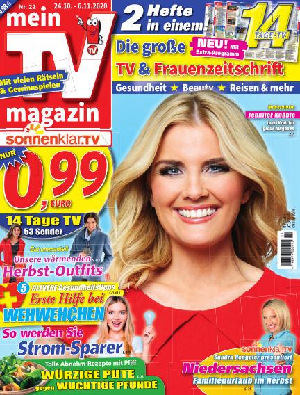mein TV-magazin October 23, 2020 00:00