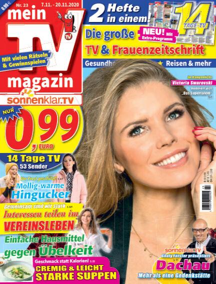 mein TV-magazin November 06, 2020 00:00