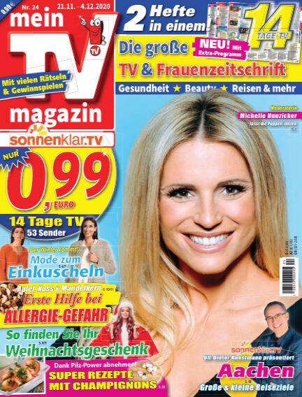 mein TV-magazin November 20, 2020 00:00