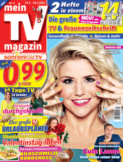 mein TV-magazin February 12, 2021 00:00
