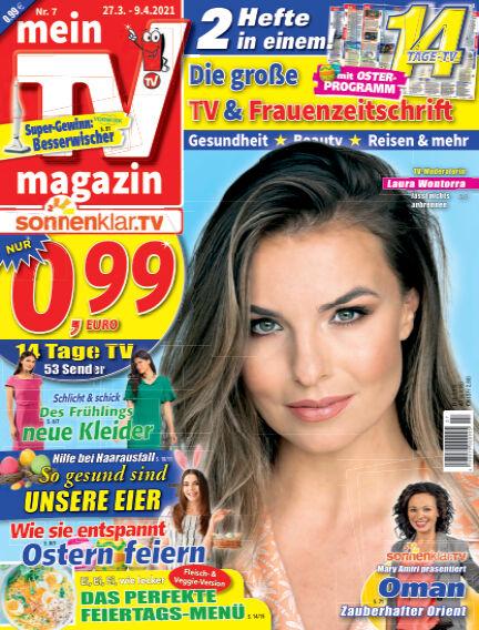 mein TV-magazin March 26, 2021 00:00