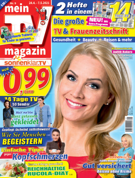 mein TV-magazin April 22, 2021 00:00