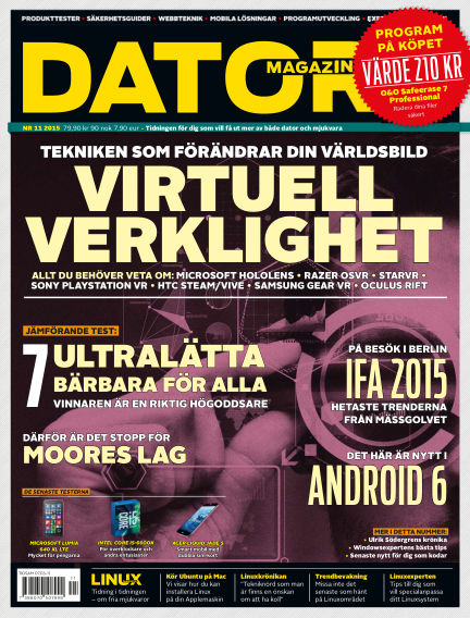 Datormagazin October 06, 2015 00:00