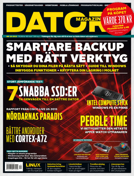 Datormagazin September 10, 2015 00:00