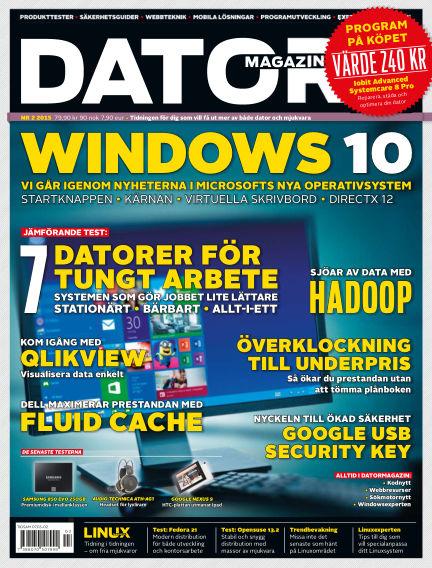 "Datormagazin (Publiceras numera i titeln ""Mobil Sverige"") January 01, 2015 00:00"