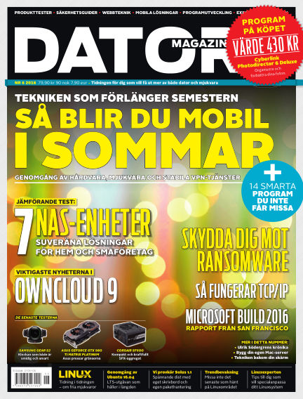 Datormagazin May 12, 2016 00:00