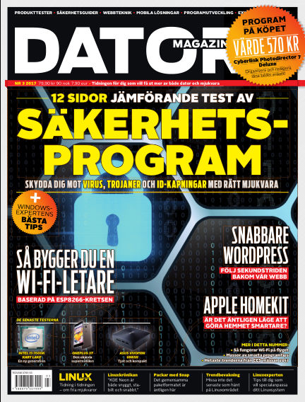 "Datormagazin (Publiceras numera i titeln ""Mobil Sverige"") February 28, 2017 00:00"