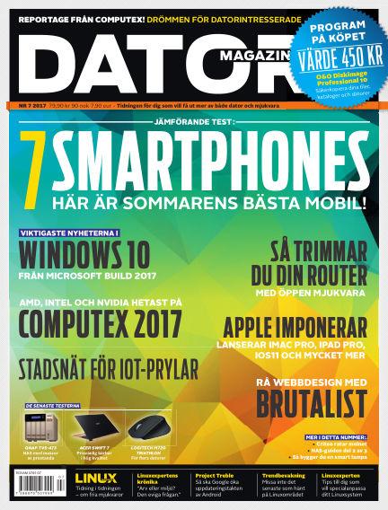 "Datormagazin (Publiceras numera i titeln ""Mobil Sverige"") June 27, 2017 00:00"