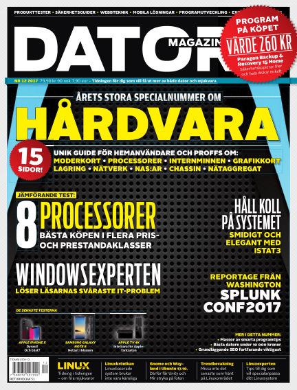 "Datormagazin (Publiceras numera i titeln ""Mobil Sverige"") November 28, 2017 00:00"