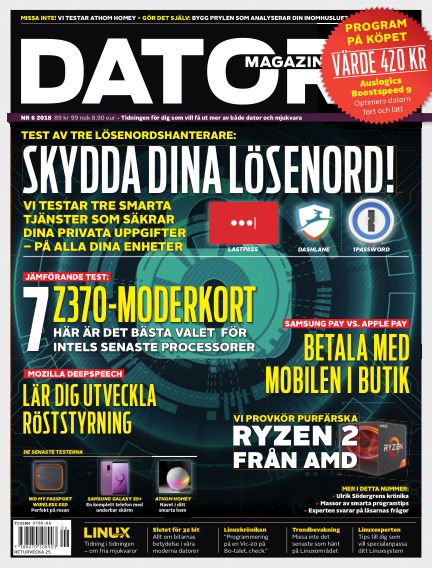 Datormagazin May 22, 2018 00:00