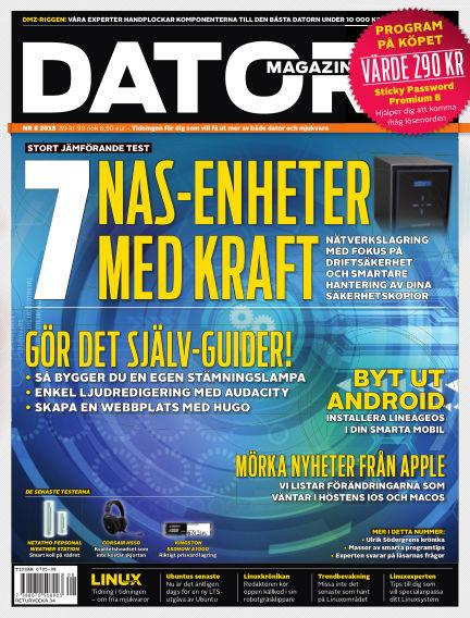 "Datormagazin (Publiceras numera i titeln ""Mobil Sverige"") July 24, 2018 00:00"