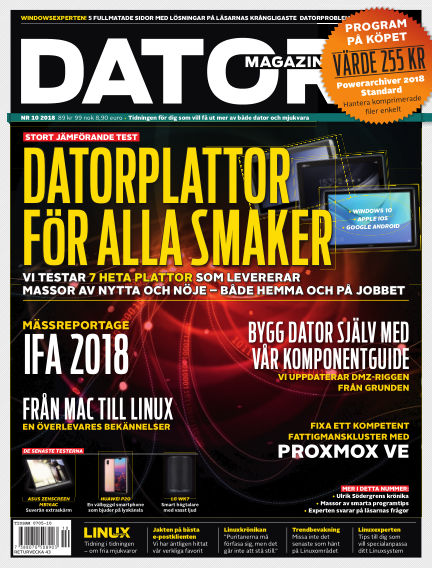 Datormagazin September 25, 2018 00:00