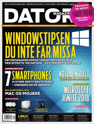 Datormagazin 2018-10-23