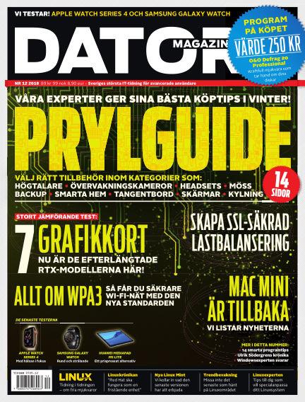 "Datormagazin (Publiceras numera i titeln ""Mobil Sverige"") November 20, 2018 00:00"