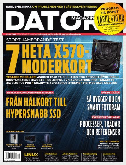 "Datormagazin (Publiceras numera i titeln ""Mobil Sverige"") September 12, 2019 00:00"