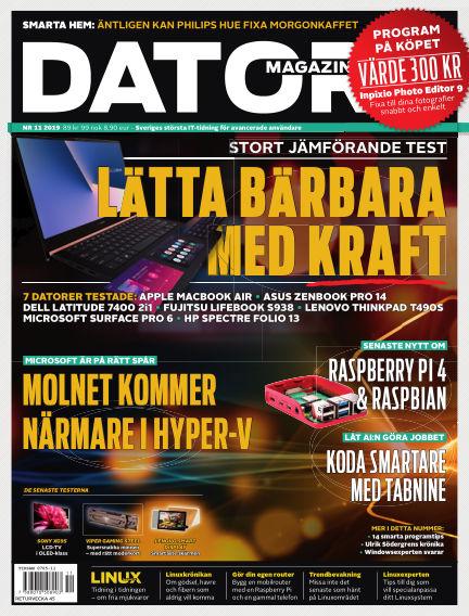 """Datormagazin (Publiceras numera i titeln """"Mobil Sverige"""") October 10, 2019 00:00"""