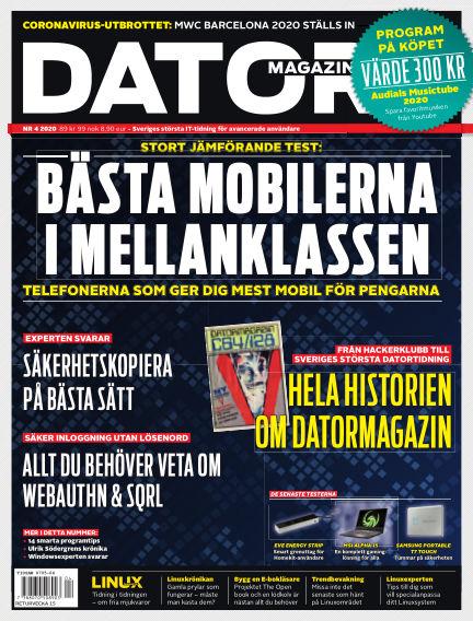 "Datormagazin (Publiceras numera i titeln ""Mobil Sverige"") March 06, 2020 00:00"