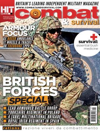 Combat & Survival February 2016