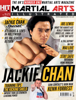 Martial Arts Illustrated March 2016