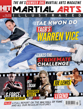 Martial Arts Illustrated February 2016