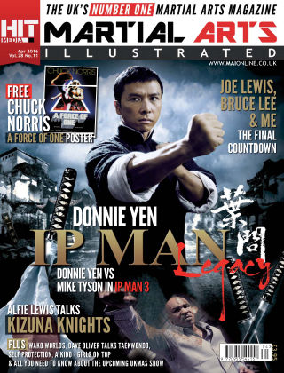 Martial Arts Illustrated April 2016
