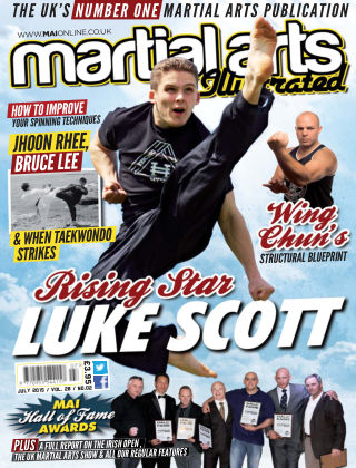 Martial Arts Illustrated July 2015