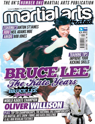 Martial Arts Illustrated August 2015