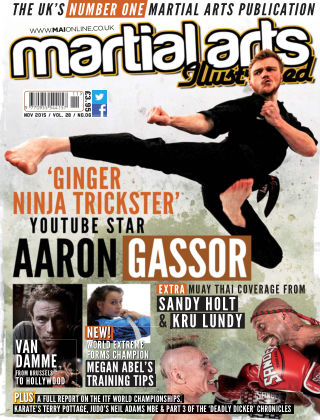 Martial Arts Illustrated November 2015
