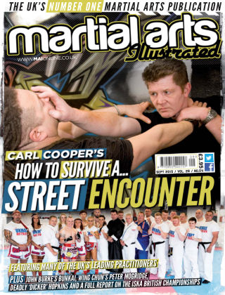 Martial Arts Illustrated September 2015