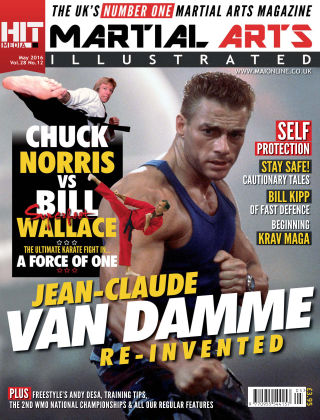 Martial Arts Illustrated May 2016