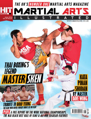 Martial Arts Illustrated June 16