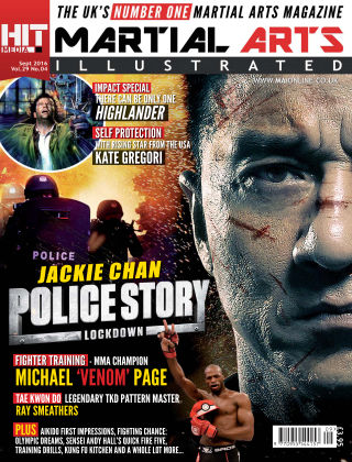 Martial Arts Illustrated September 2016