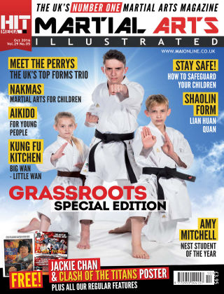 Martial Arts Illustrated October 2016
