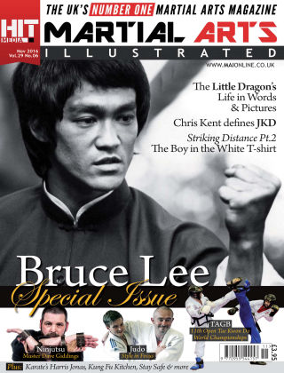 Martial Arts Illustrated November 2016