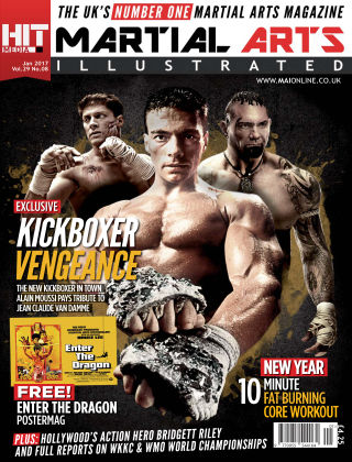 Martial Arts Illustrated January 2017