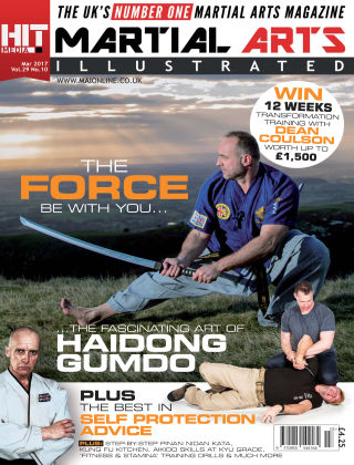 Martial Arts Illustrated March 2017