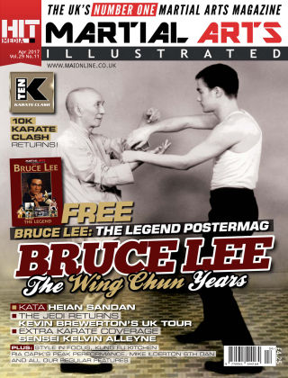Martial Arts Illustrated April 2017