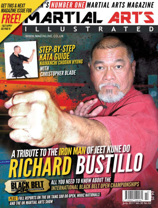 Martial Arts Illustrated July 2017
