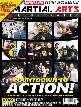 Martial Arts Illustrated September 2017