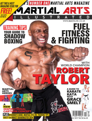 Martial Arts Illustrated October 2017