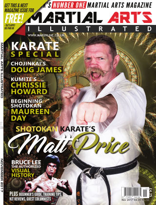 Martial Arts Illustrated November 2017