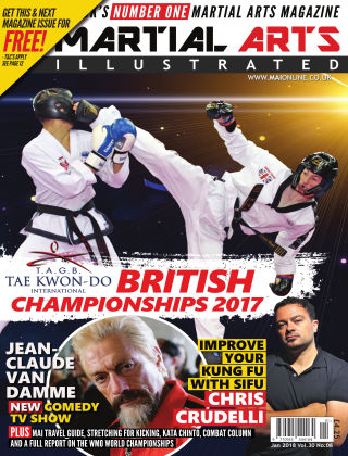 Martial Arts Illustrated January 2018