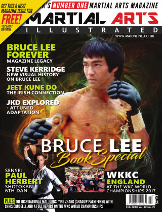 Martial Arts Illustrated Feburary 2018